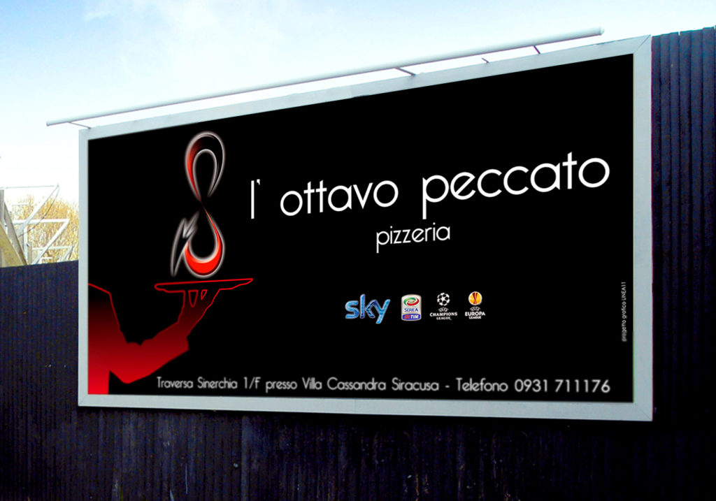2013 L'OTTAVO PECCATO - Linea 11 Siracusa - Comunicazione, pubblicità, adv, illustrazioni